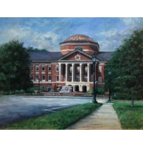Meredith College's Johnson Hall Print