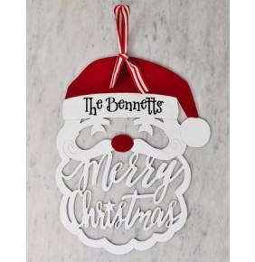 Personalized Santa Door Hanger